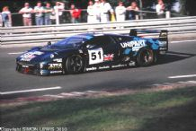 JAGUAR XJ220 Car 51 Le Mans 24 hours 1993